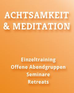 Achtsamkeitstraining, Meditation, München, Pasing, Landsberg, Ammersee