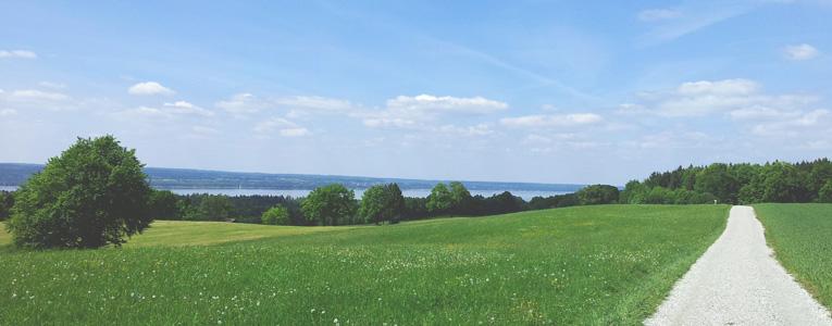 Ammersee im Starnberger Fünfseenland